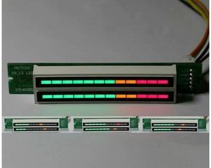 Image 5 - Atualizado v1.0 24 led nível indicador placa dinâmica sensível para vu metro tubo amplificadores alto falante acessórios kits diy dc12v