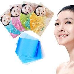 Venda quente 100 Folhas Facial Controle De Óleo Absorvente Filme Blotters Blotting Papel Tissu