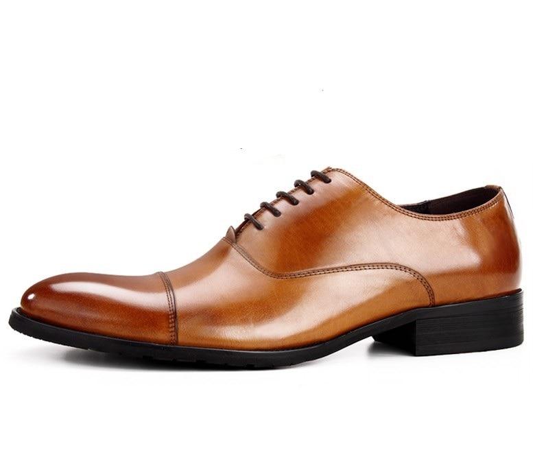 Didelės apimties EUR45 mados 5 spalvos oficialios Oxfords batų vyriškos suknelės batai natūralios odos Oxfords verslo batų vyriški vestuvių batai