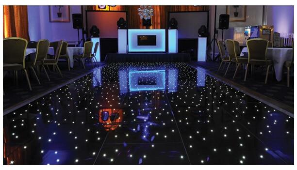 Led Wedding Stage 2418 Feets Led Star Dancing Floor Whiteblack Led