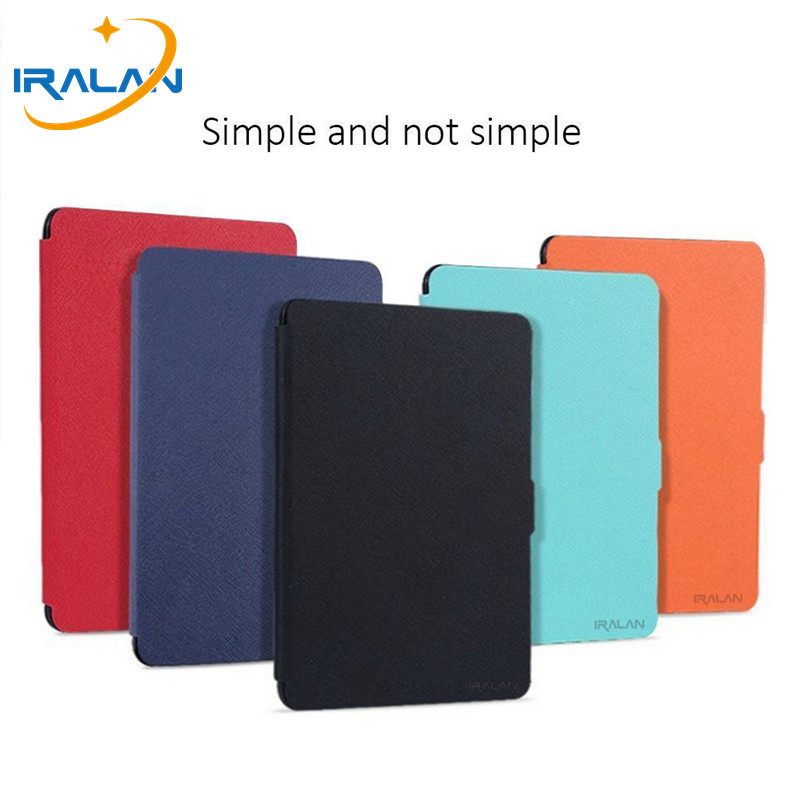 Fashion new hot Cover For Amazon Kindle Paperwhite 1/2/3 Ebook Ereader Leather Case 6 inch For Kindle Paperwhite + Stylus + Film kindle paperwhite 1 2 3 case e book cover tpu rear shell pu leather smart case for amazon kindle paperwhite 3 cover 6 stylus