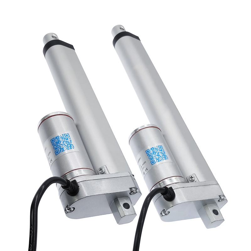 Electric Linear Actuator 200mm 150mm 12V/24V DC Motor Stroke Linear motor Controller 100/200/300/500/750/800/900/1100/1300/1500N-in DC Motor from Home Improvement