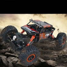 2.4G Rock Crawlers RC Car 4WD Rock Climber Waterproof Remote Control Car Off-Road Vehicle Toy for Kids Free shipping