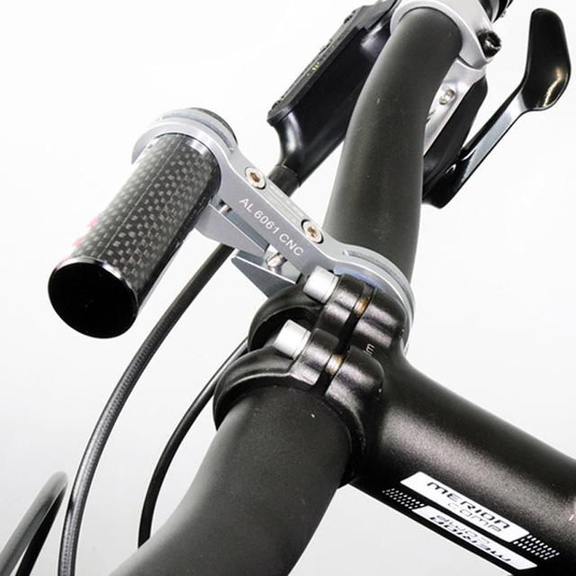 New Cycling Handlebar GUB G-329 Carbon Bike Extender Mount Bike Bicycle Light Bracket Bicycle Accessories Hot