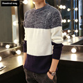 2017 New Autumn Winter Causal Fashion Sweater Men Pullovers Knitwear O-neck free shipping