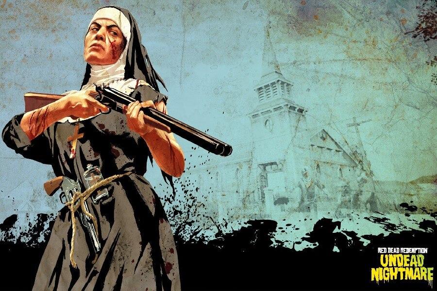 ᗗUndead Nightmare монахини Red Dead Redemption игры ...