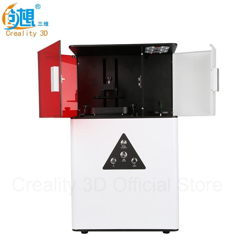 DP-001 CREALITY 3D de Alta precisión de resina de curado de luz LED DLP 3D Impre
