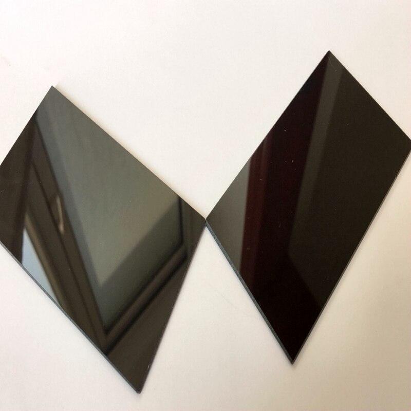 254x298x3 мм УФ прозрачное стекло для ультрафиолетовые лампы