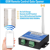 RTU5024 GSM Gate Opener Relay Switch Remote Access Control Wireless Door Opener By Free SIM Calling