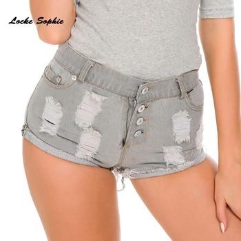 High waist Sexy Women's jeans denim shorts  Summer Fashion Denim broken hole shorts Ladies Skinny cotton super short jeans wallflower juniors short inseam luscious curvy skinny jeans