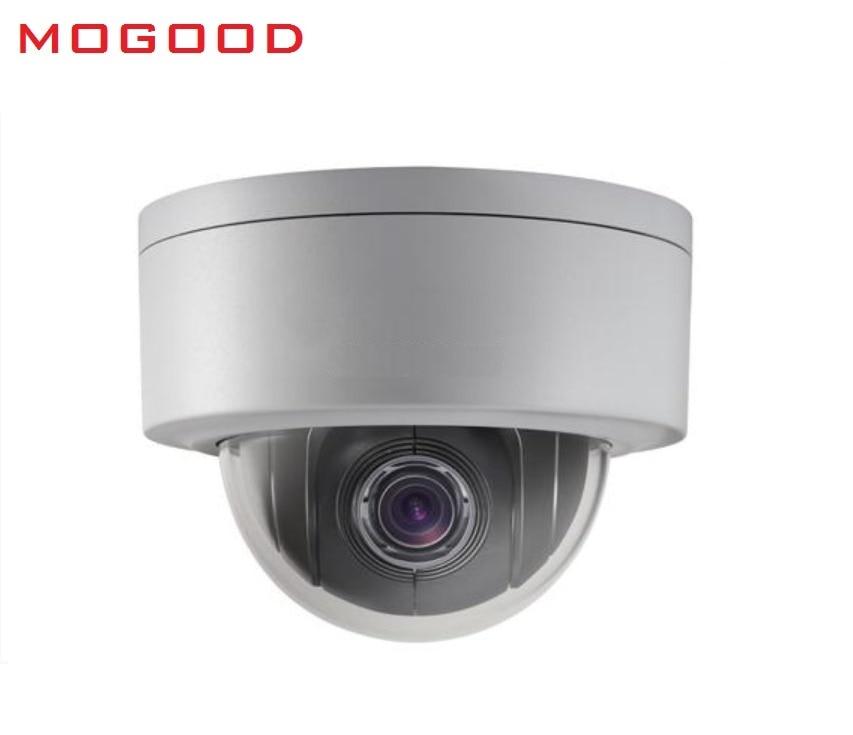 HIKVISION DS-2DE3204W-DE 2MP 1080P Mini PTZ  IP Camera 2.8mm-12mm,4X Zoom Support IP66 Outdoor Waterproof  PoE Security Camera hikvision ds 2de3304w de english version 1080p mini ptz ip camera 2 8mm 12mm 4x zoom support ezviz outdoor poe security camera