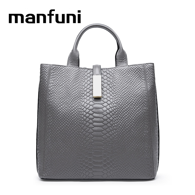 MANFUNI High Quality 100% Genuine Leather Handbag Large Capacity Tote Real high quality sbc8168 rev c2 100