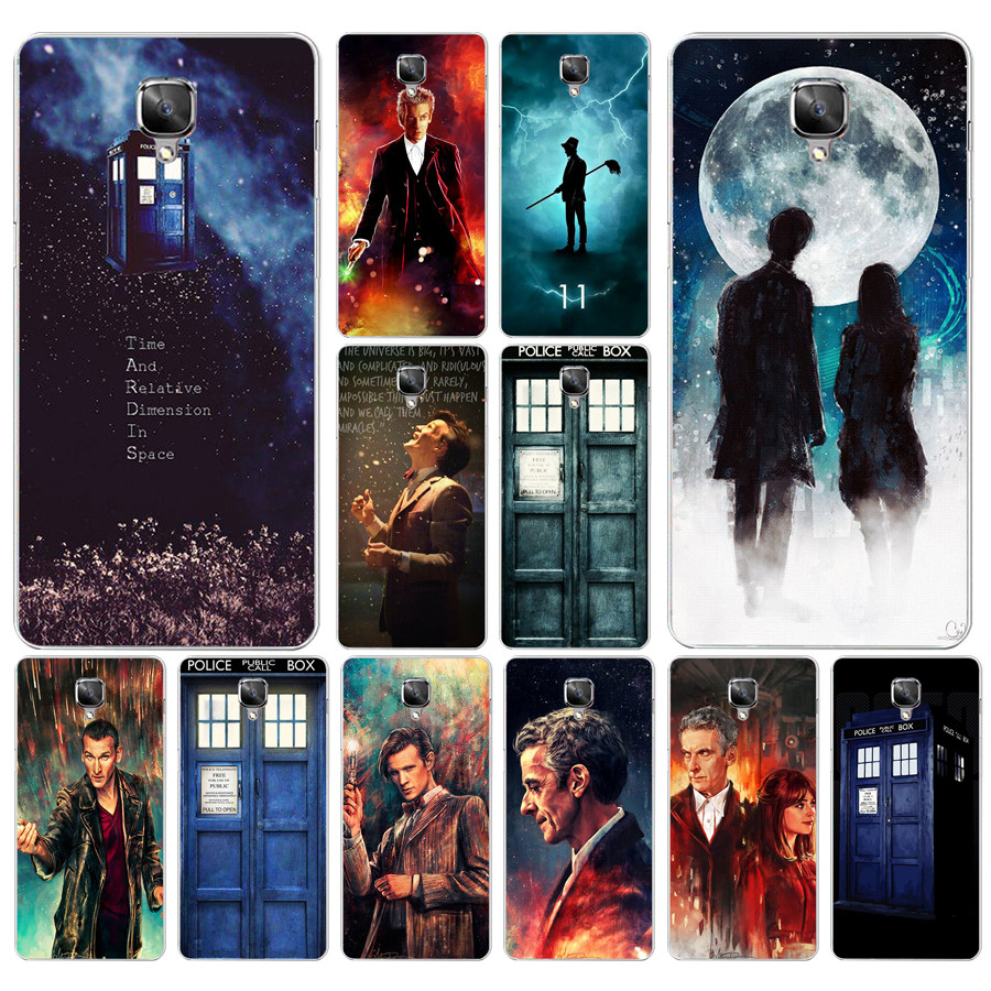 Cellphones & Telecommunications 294df Tardis Box Doctor Who Hard Transparent Cover Case For Oneplus 3 3t 5 5t Elegant Shape
