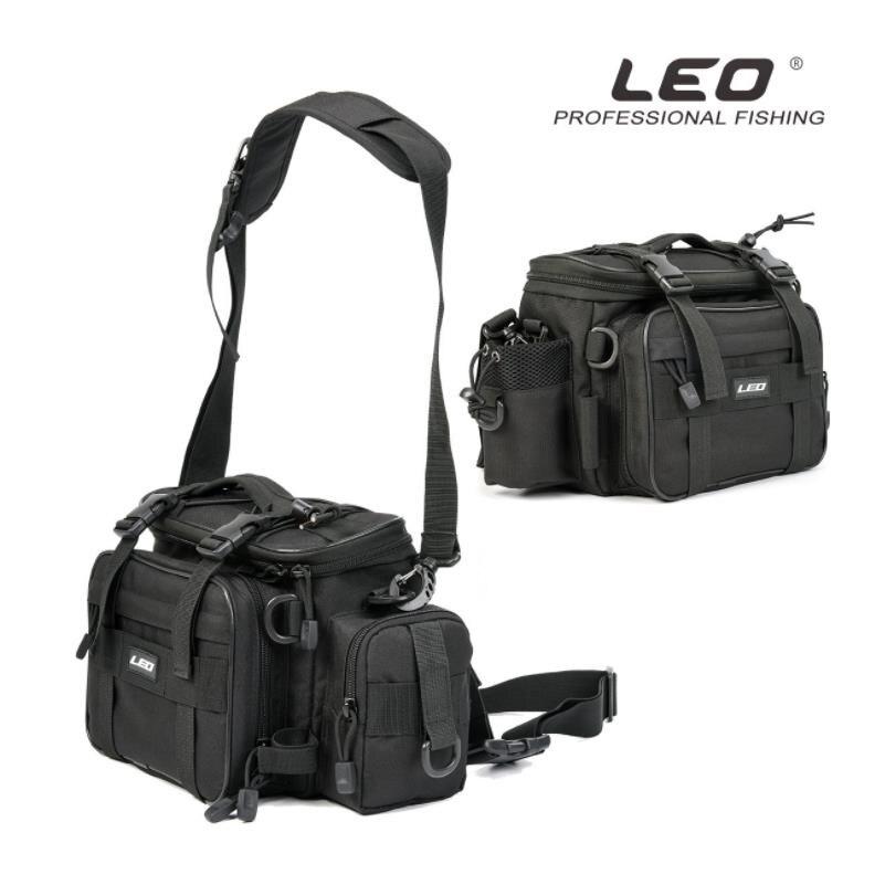 LEO Fishing bags Multifunctional Waterproof Outdoor Waist Shoulder Bag Fishing Reel /line /Water bottle/hooks Tools Bag Case