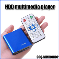 JEDX Mini Full HD 1080P HDD Media Player With HDMI AV USB SD MMC Multimedia Player