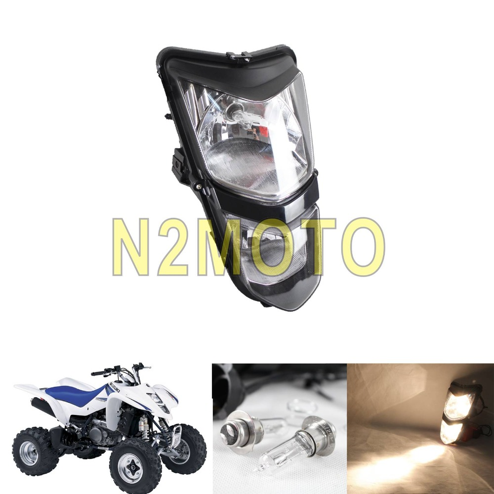 Motorcycle ATV Off Road Filaments Lamps 12V/25W Headlight Front Headlamp For Suzuki LTZ400 LTZ400Z 03-08 KAWASAKI KFX KSF400
