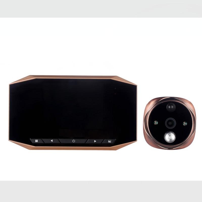 3.5 TFT Digital Door Viewer Photo Video Night Vision Motion Detect HD Doorbell Home Security Door Peephole Support Russian цена