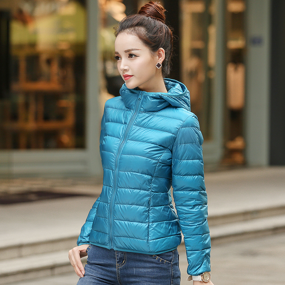 Aliexpress.com : Buy Women Winter Jacket Lightweight Down Coats ...