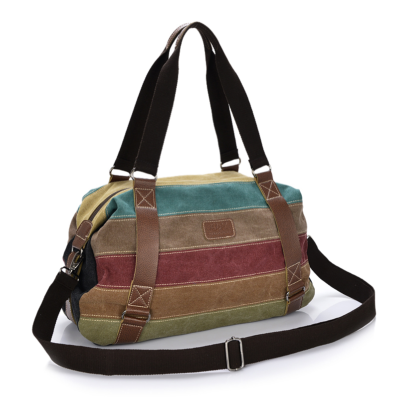Fashion Patchwork Canvas Shoulder Bag Handbag Women Lady Colorful Messenger Crossbody Bags For Women Casual Tote Bag Female 1208 fashion women messenger bag mini handbag female shoulder bags vintage canvas tote satchels school bag small crossbody bag