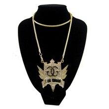 """Nuevo Hacia Fuera Helado Soy Swagg Colgante Collar con Plena Rhinestone 3mm Rhinestones con 36 """"collar de Cadena de Franco BIENVENIDOS PERSONALIZAR!"""