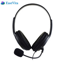 EastVita YCEJ02 Stereo Wired Gaming Headphones 3.5mm Handsfree Music Player Headset with Mic for Phone Tablets Computers PC PS4