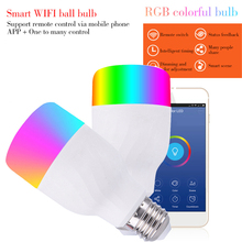 7W Wifi Controller App control light Smart Light  Intelligent phone Dimmable bulb Remote