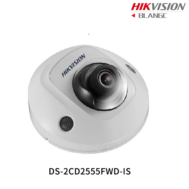 Hikvision Hik English H.265 5MP IP Camera DS-2CD2555FWD-IS replace DS-2CD2542FWD-IS Mini Dome Camera WDR POE built in microphone