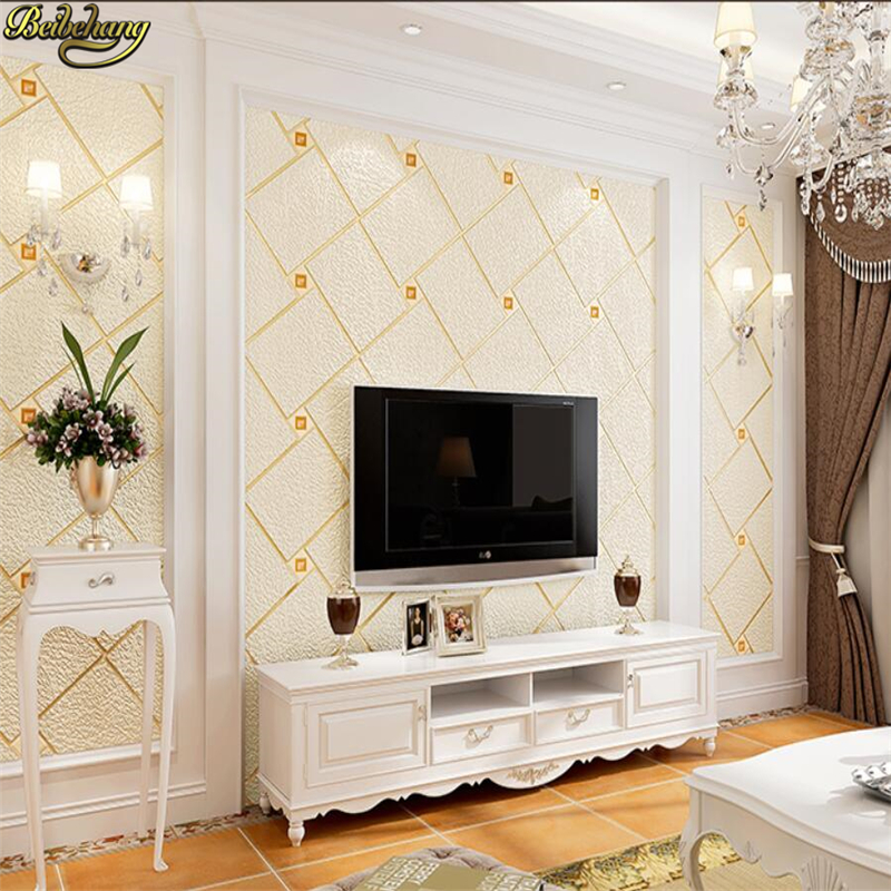 beibehang wall paper papel de parede.Luxury luxury thick 3D European non-woven deerskin cashmere bedroom living room wallpaperbeibehang wall paper papel de parede.Luxury luxury thick 3D European non-woven deerskin cashmere bedroom living room wallpaper