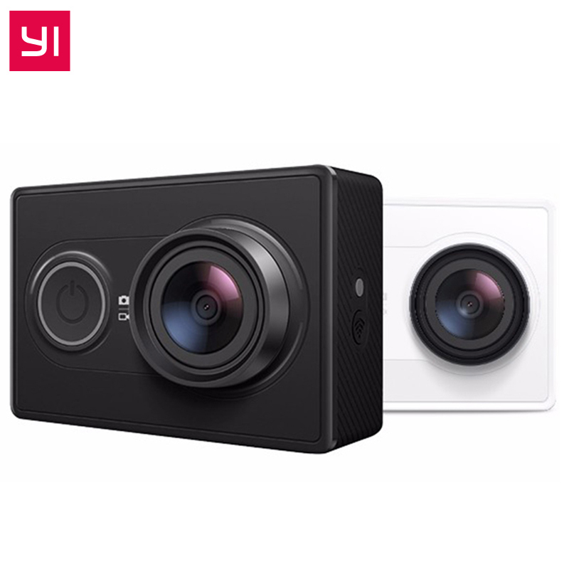 Original International Xiaomi YI Action Sports Camera Ambarella A7LS 155 Degree 1080P WiFi Action Cam 3D Noise Reduction ...