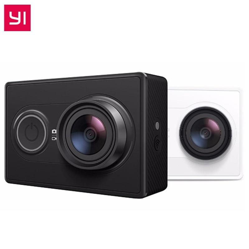 Original International Xiaomi YI Action Sports Camera Ambarella A7LS 155 Degree 1080P WiFi Action Cam 3D Noise Reduction ...