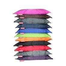 Yüksek kaliteli fasulye torbası kanepe kılıfı 140x180 sandalyeler su geçirmez koltuk oturma odası yatak mobilyaları tembel Tatami (dolum değil dahil)