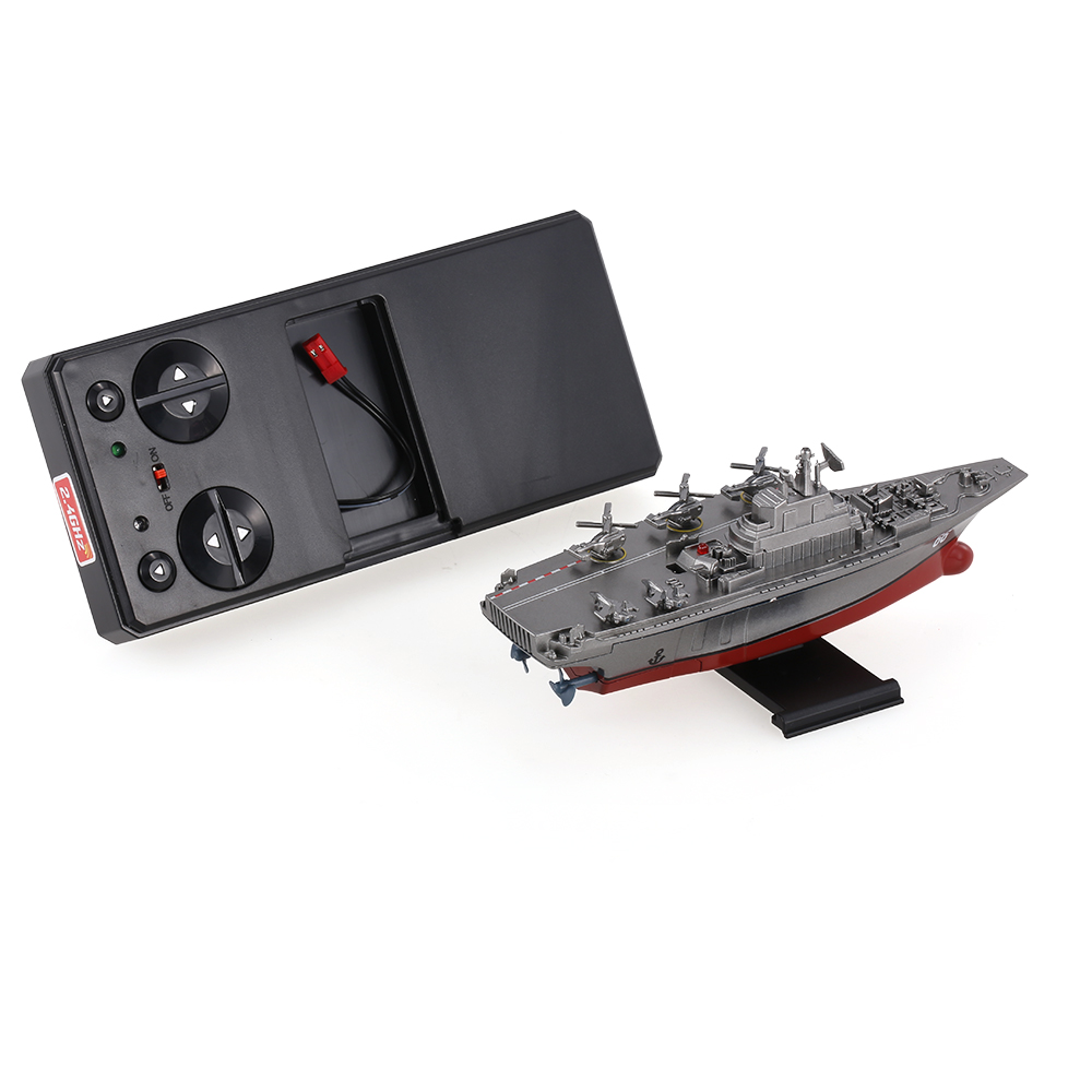 Remote Control Toys RC Boat Sea Star 3319 2.4GHz All Direction Navigate Mini Radio Control Electric Aircraft Carrier Model RTR (17)