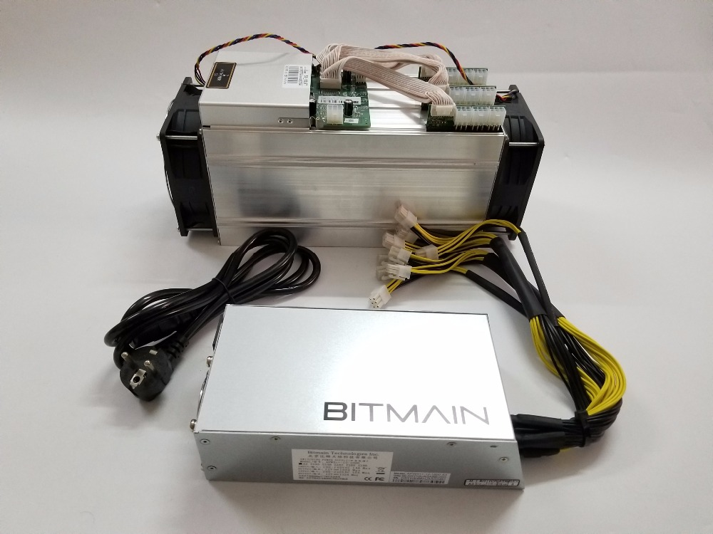 Used Antminer S9 14TH With BITMAIN APW3++ 1600W Power Supply Asic BTC BCH Miner Better Than WhatsMiner M3 S9 13.5T Ebit E9 T9+ цена 2017