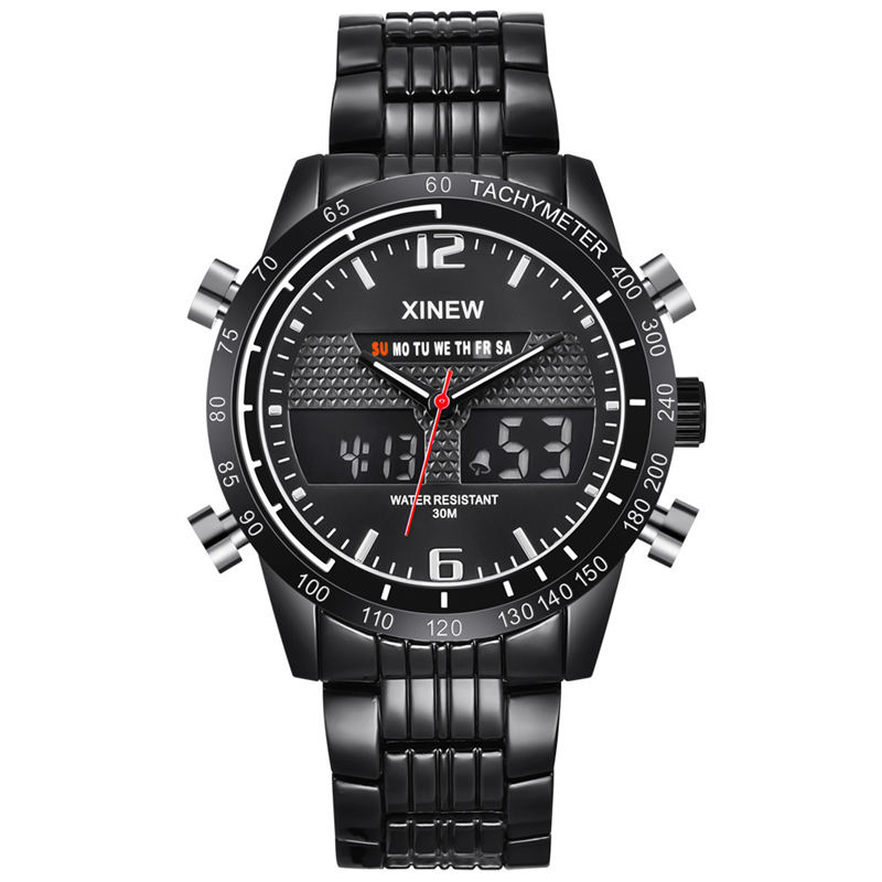 Man Watch Mechanical Movement XINEW Relogio Masculino Mens Watches Top Brand Luxury The Darling Of Fashion With Calendrier@44