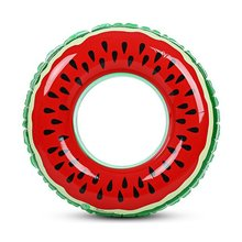 Watermelon Inflatable Adult Children Swimming Ring Pool Float Circle For