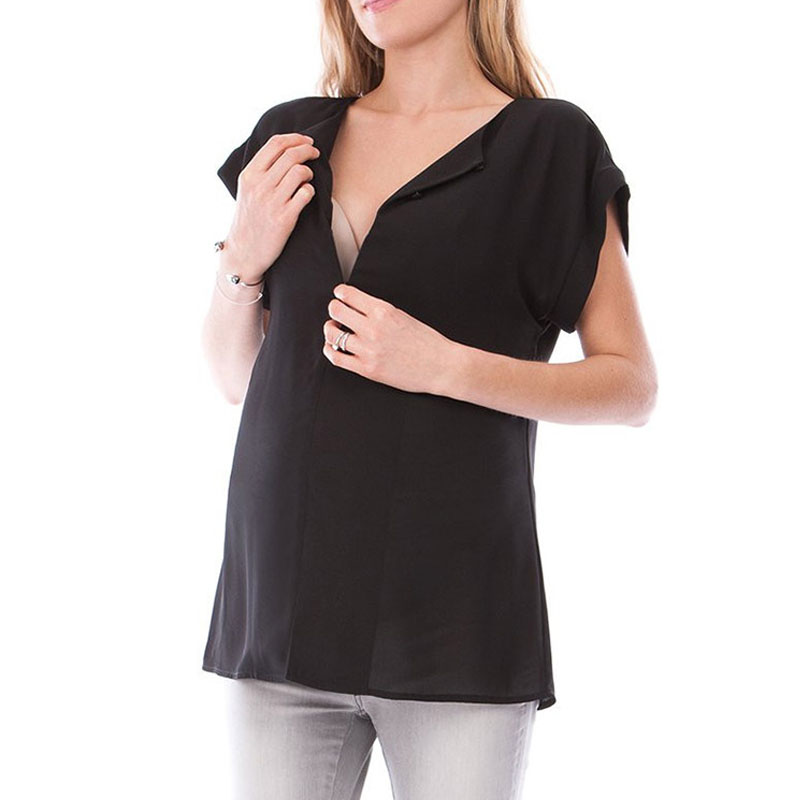 Maternity Nursing Blouses Shirts Clothings