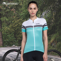 Santic Cycling Jersey Women Charges Short Sleeve Bicycle Jersey Sports Cycling Jersey Summer Cycling Clothes China LC02062V