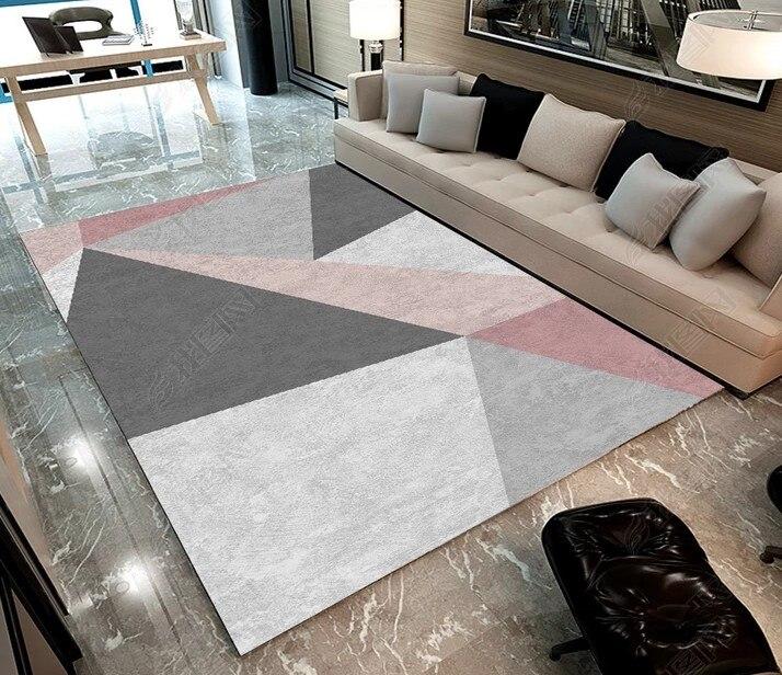 Mémoire Mousse Géométrique Tapis tapis Chambre Tapis Tapis Paillasson pour Couloir Salon Chambre Cuisine Tapis De Sol