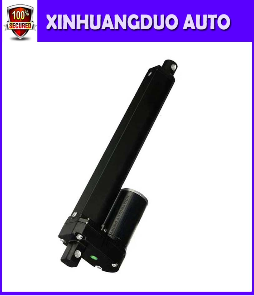 700mm Stroke Heavy Duty 3500N 12 24V DC 28 inch 770LBS load electric linear actuator mini