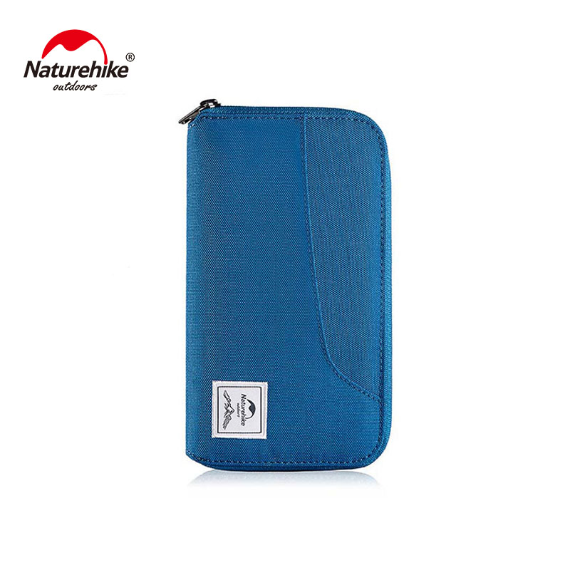 Naturehike Multifunctional RFID Travel Wallet Ultralight Protable Bag for Documents Credit Cards NH18X020-B