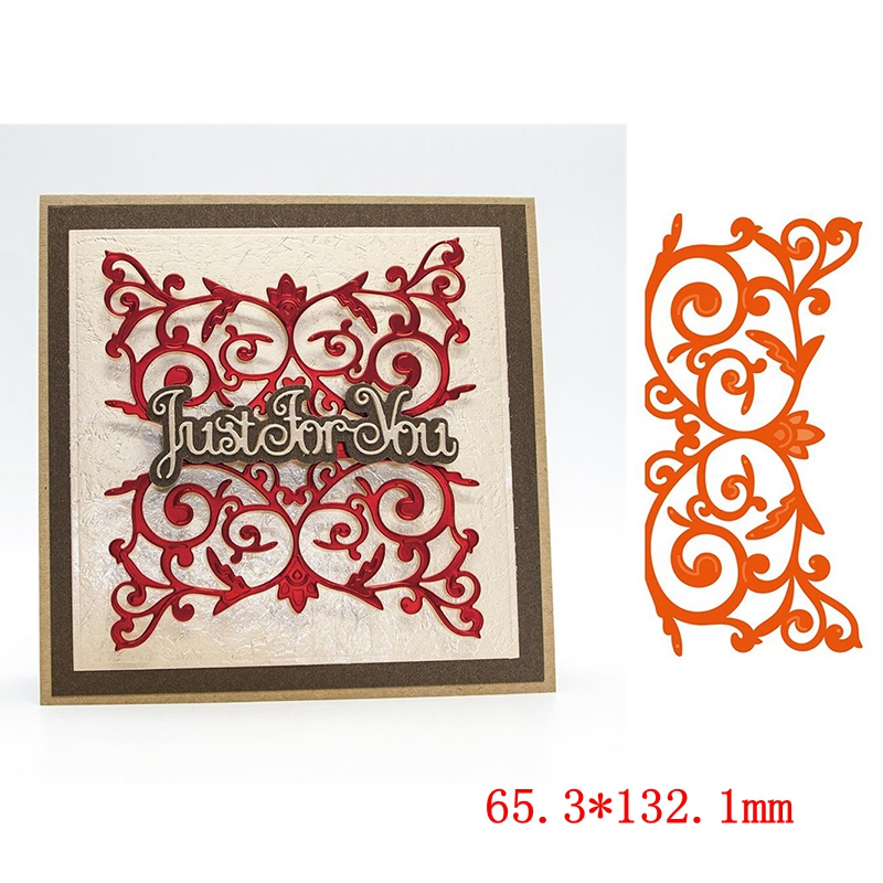 Lace Border Metal Cutting Dies Stencil Scrapbook Embossing Paper Card Craft DIY