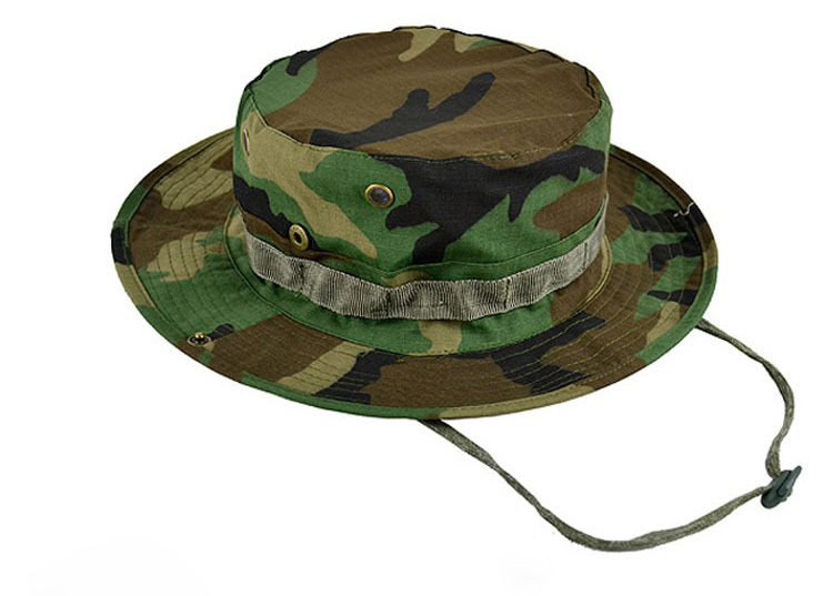 eebebdafc49 Breatheable Tactical Swat Milspec Boonie Hat Cap Free Size Short Brimmed  Camouflage DPM Bush Hat Jungle Tropical Outdoors