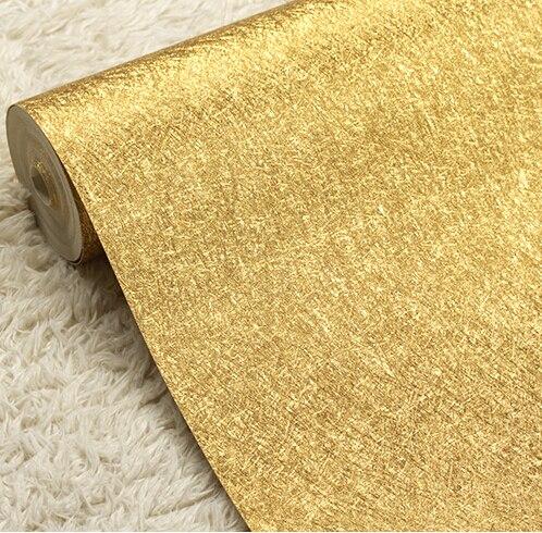 Современная роскошь серебро и золото стены Бумага ПВХ Водонепроницаемый Задний план стены Бумага roll рабочего стола Бумага розового золота ...