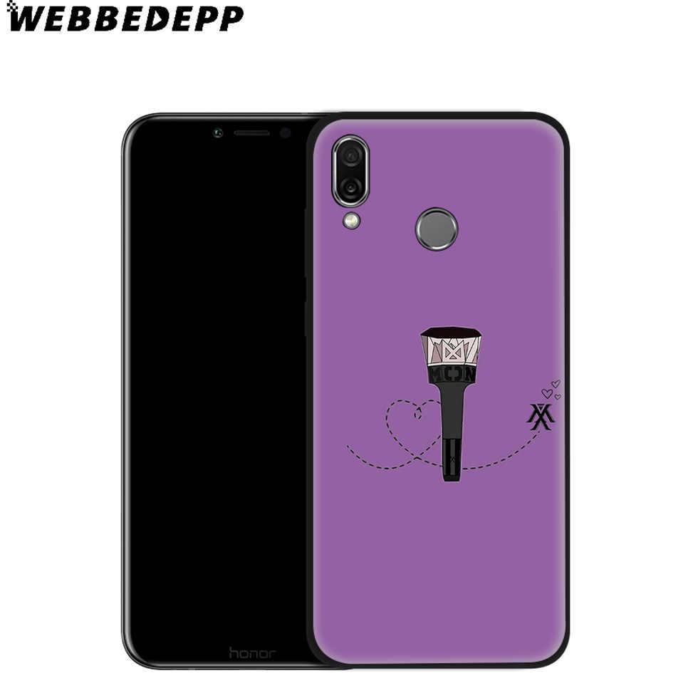 WEBBEDEPP Monsta X Bantları Yumuşak Kılıf için Huawei P8 P9 P10 P20 P30 Lite Pro P Akıllı Z Artı 2019 y6 Başbakan 2018 2017 Lite Mini