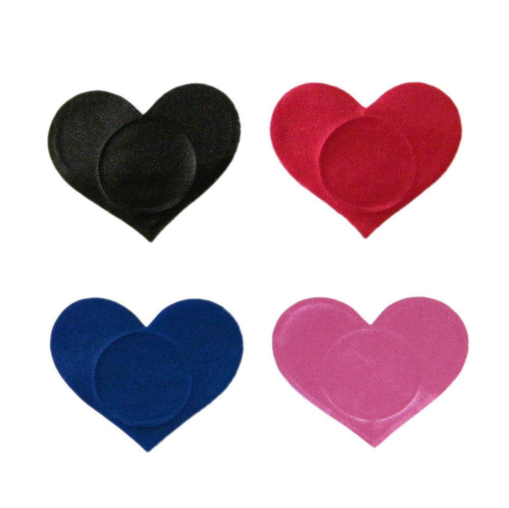 4 Couples Heart Adhesive Nipple Covers Women Breasts Stickers Disposable Tips Milk Paste Anti Emptied Chest Bra Lover Sex Toys