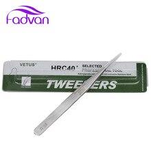 1 Pcs Qualität Anti-Säure Metall Stahl Gerade Pinzette Make-Up Wimpern Falsche Wimpern Verlängerung Styling Werkzeuge