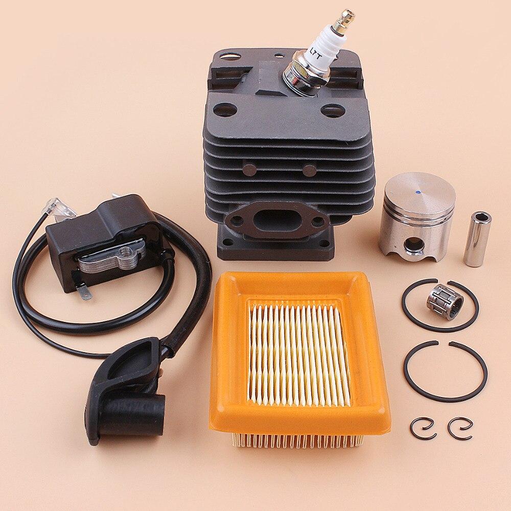 STIHL Coil 35MM FS250R Air BT120 TRIMMER FS200 FS120 Ignition FS200R GRASS FS120R Kit Filter FS250 Cylinder BT121 Piston For