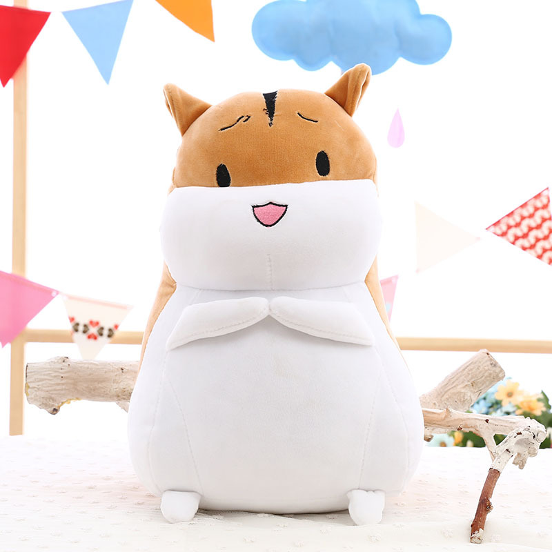 Stuffed animals plush Kid toys cute hamster pillow plush doll little mouse sprout hamster doll feather cotton pillow soft doll