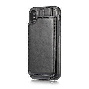 Image 3 - 15 шт. мягкий чехол из ТПУ и искусственной кожи для карт для iPhone X, бумажник, слот для кредитных карт, задняя крышка для iPhone 10 2018, противоударные чехлы для телефонов
