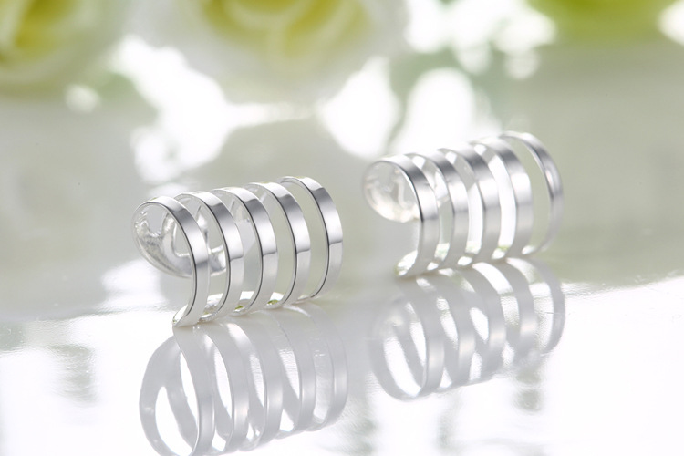 Mejor venta de cobre clips del oído unisex pareja en forma de U clips sin piercing TE04